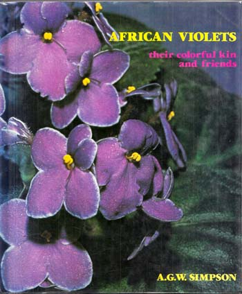 Image for African Violets: Their colorful kin and friends
