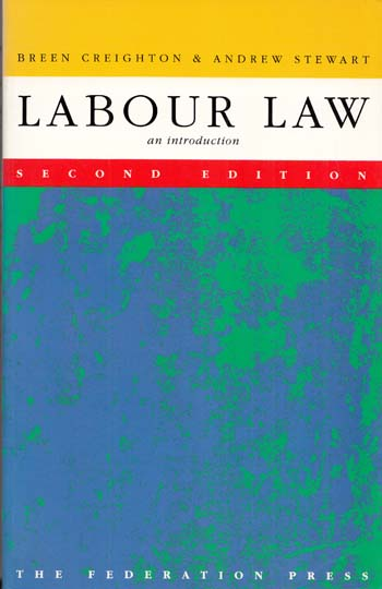 Image for LABOUR LAW AN INTRODUCTION