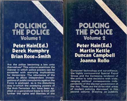 Image for Policing The Police (Volumes 1 & 2)