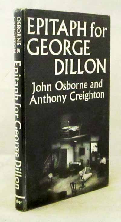 Image for Epitaph for George Dillon A Play in Three Acts