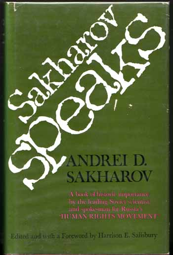 Image for Sakharov Speaks