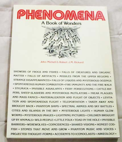 Image for Phenomena: A Book of Wonders