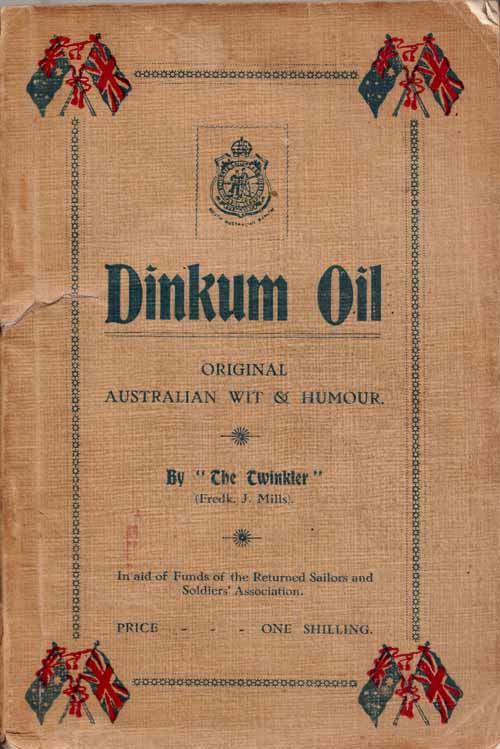 Image for Dinkum Oil.  A Volume of Original Australian Wit and Humour