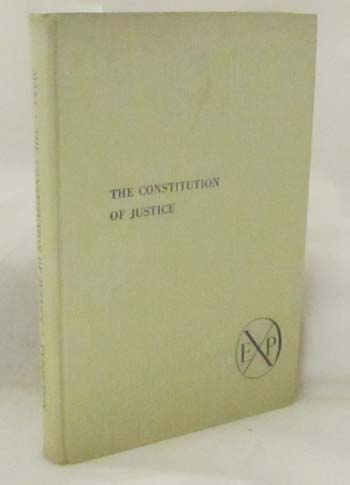 Image for The Constitution of Justice