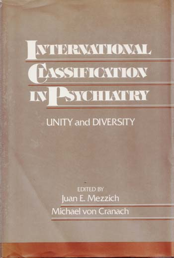 Image for International Classification in Psychiatry