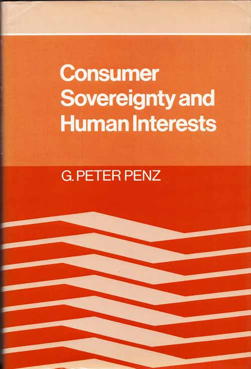 Image for Consumer Sovereignty and Human Interests