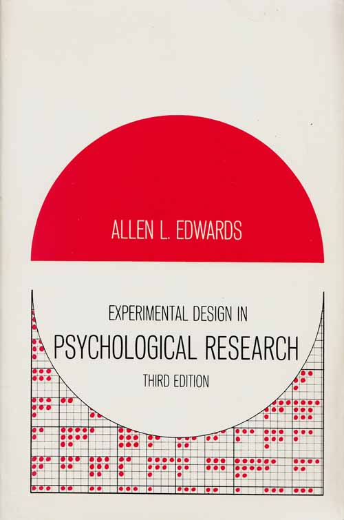 Image for Experimental Design in Psychological Research