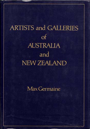 Image for Artists and Galleries of Australia and New Zealand [Signed by Leon Pericles]