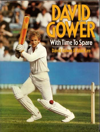 Image for David Gower. With Time to Spare