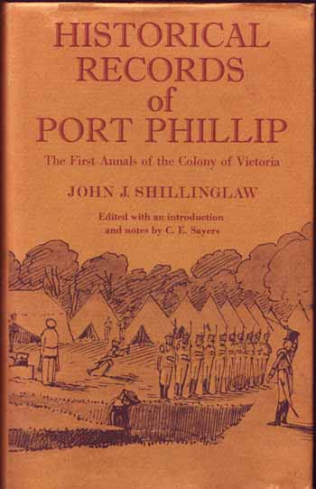 Image for Historical Records of Port Phillip The First Annals of the Colony of Victoria