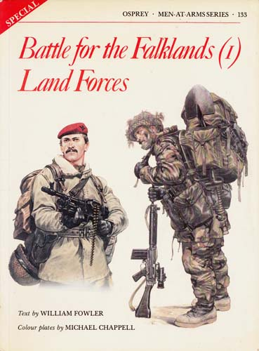 Image for Battle for the Falklands [1] Land Forces [Men-at-Arms Series No 133]