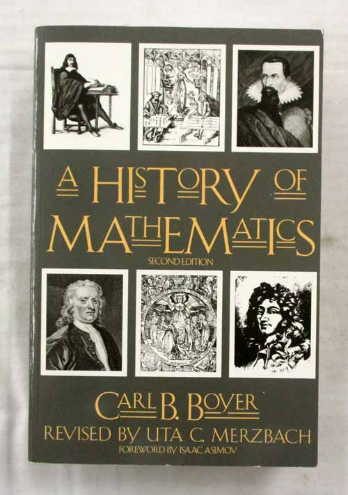 Image for A History of Mathematics. Second Edition