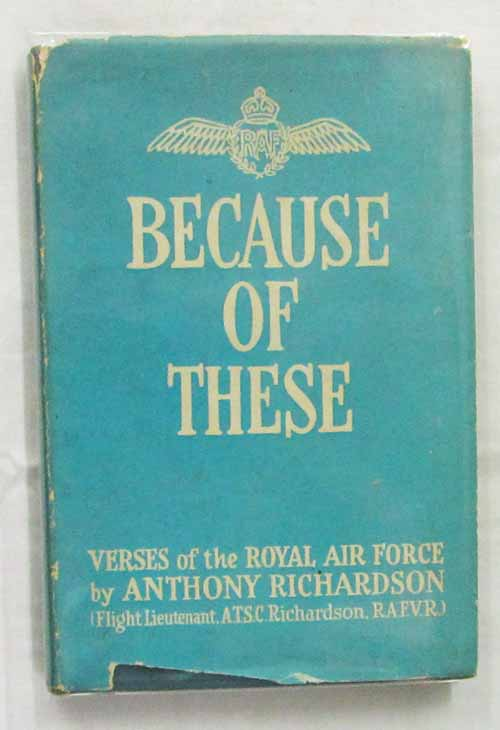 Image for Because of These: Verses of the Royal Air Force