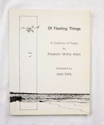Image for Of Fleeting Things. A Collection of Poetry