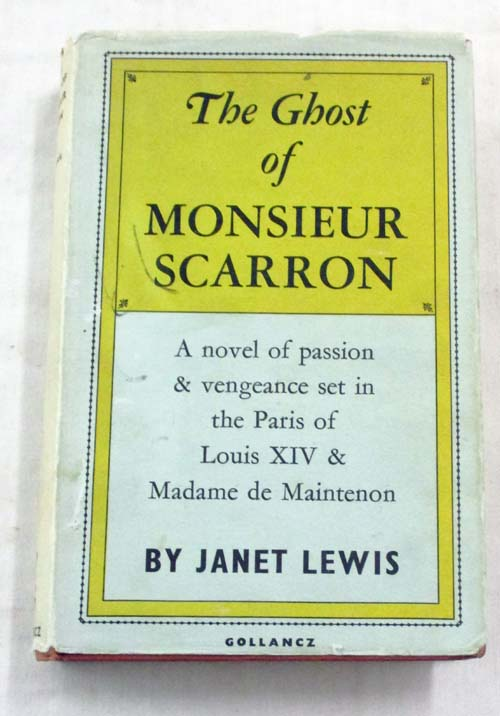 Image for The Ghost of Monsieur Scarron