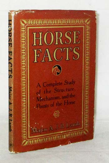 Image for Horse Facts a Brief Study of Points of the Horse and Equine Mechanism