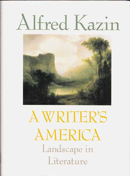 Image for A Writer's America. Landscape in Literature