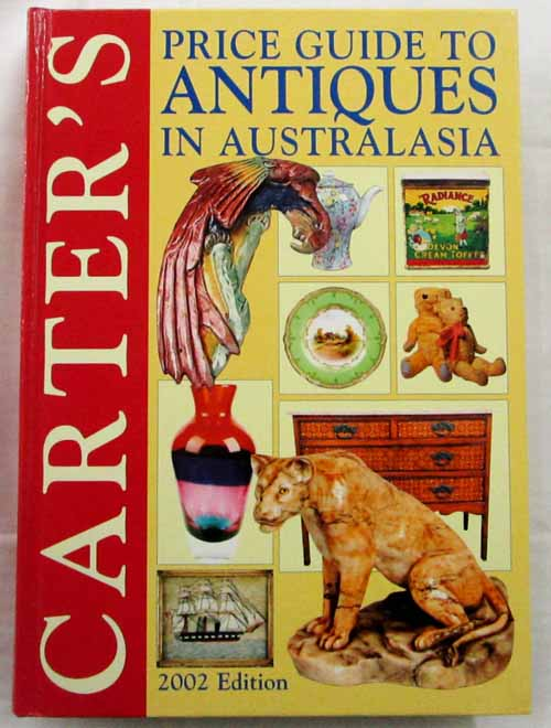 Image for Carter's Price Guide to Antiques in Australasia. 2002 edition
