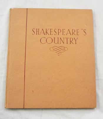 Image for Shakespeare's Country A Book of Photographs
