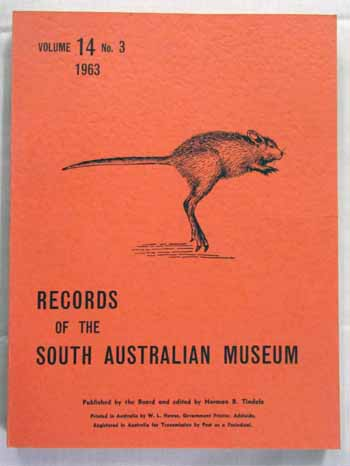 Image for Records of the South Australian Museum Volume 14 No 3