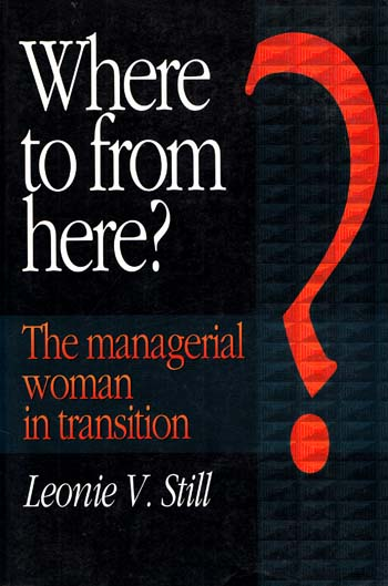 Image for Where to From Here The Managerial Woman in Transition