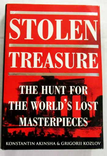 Image for Stolen Treasure The Hunt for the World's Lost Masterpieces