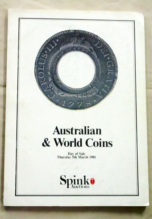 Image for Australian and World Coins. The property of various owners including the estate of the Late Peter James Dodd of York, Western Australia
