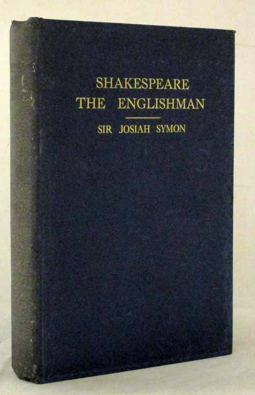 Image for Shakespeare the Englishman