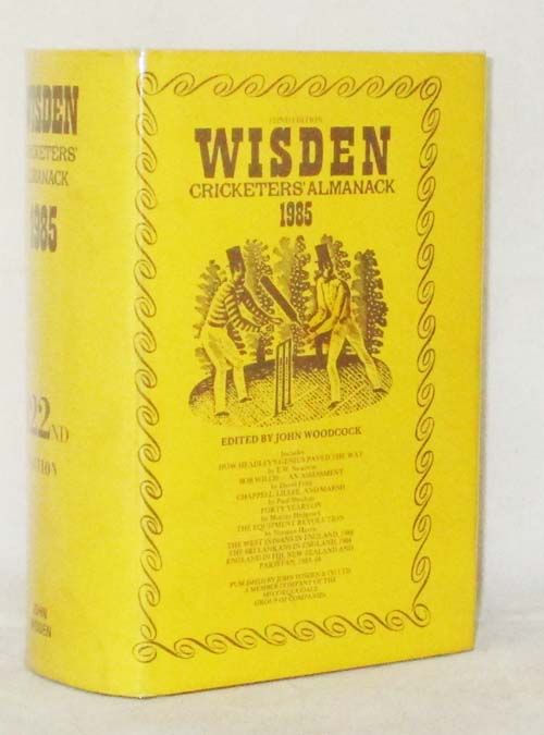 Image for WISDEN CRICKETERS' ALMANACK 1985