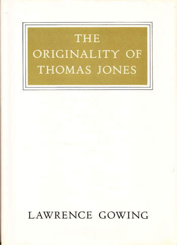 Image for The Originality of Thomas Jones