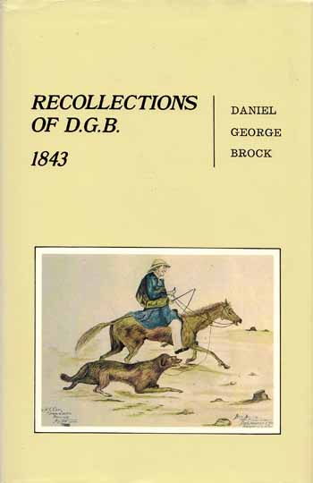Image for Recollections of D.G.B. 1843