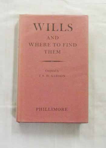 Image for Wills And Where To Find Them