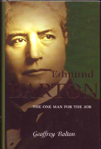 Image for Edmund Barton (Signed copy)