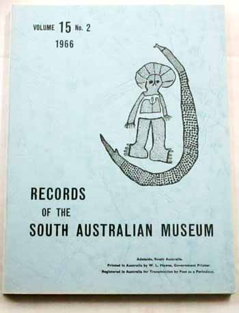 Image for Records of the South Australian Museum  Volume 15 No 2 1966