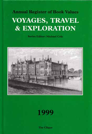Image for Annual Register of Book Values VOYAGES, TRAVEL AND EXPLORATION 1999
