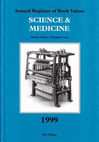 Image for Annual Register of Book Values SCIENCE & MEDICINE 1999