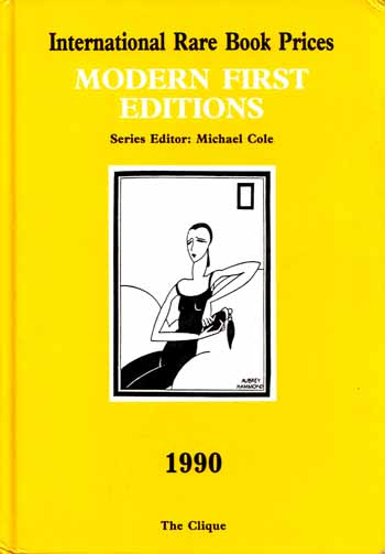 Image for International Rare Book Prices  MODERN FIRST EDITIONS  1990