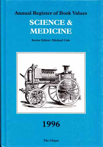 Image for Annual Register of Book Values SCIENCE AND MEDICINE 1996