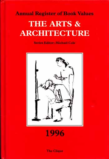 Image for Annual Register of Book Values THE ARTS AND ARCHITECTURE 1996