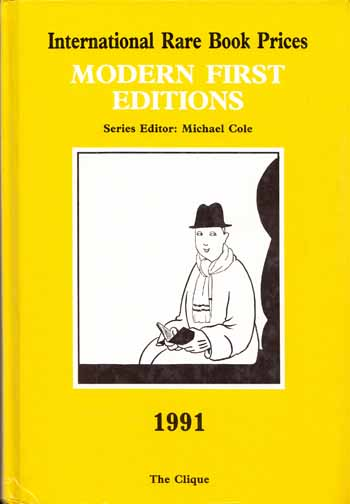 Image for International Rare Book Prices  MODERN FIRST EDITIONS  1991