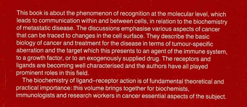 Image for Receptors in tumor biology