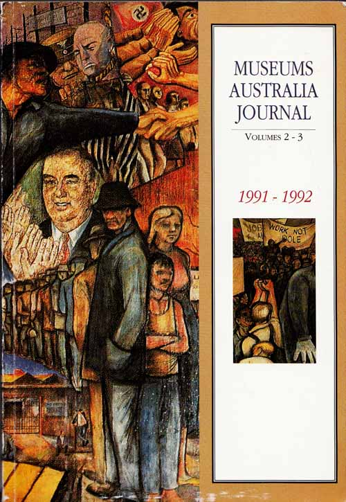Image for Museums Australia Journal Volumes 2-3 1991-1992