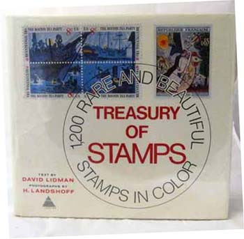 Image for Treasury of Stamps. 1,200 Rare and Beautiful Stamps in Colour