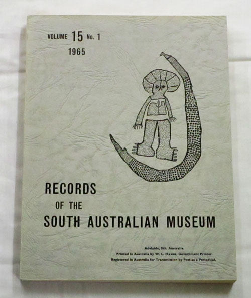 Image for Records of the South Australian Museum Volume 15 No 1 1965