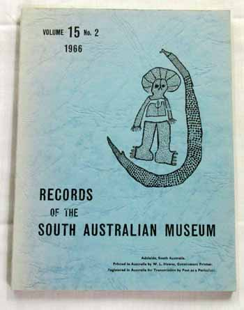 Image for Records of the South Australian Museum Volume 15 No 2