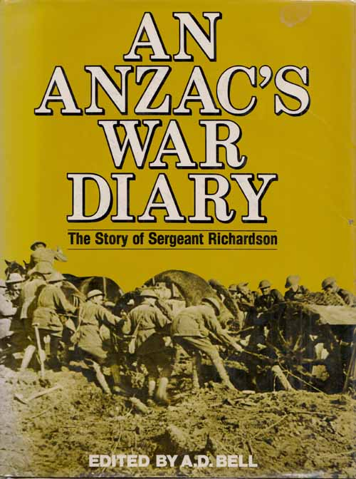 Image for An Anzac's War Diary The Story of Sergeant Richardson
