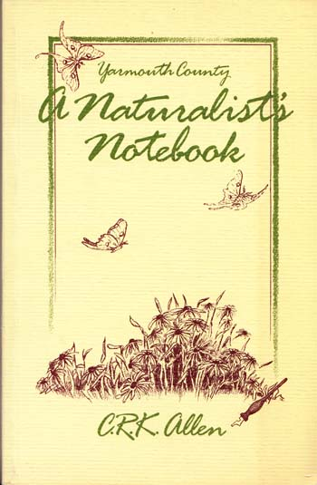 Image for A Naturalist's Notebook: Yarmouth County