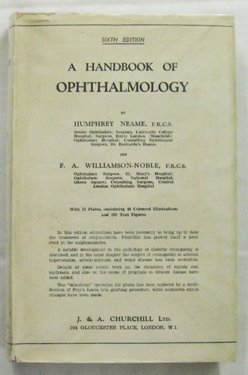 Image for A Handbook of Ophthalmology