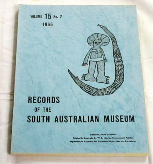 Image for Records of the South Australian Museum  Volume 15 No 2, 1966