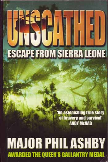 Image for Unscathed. Escape from Sierra Leone